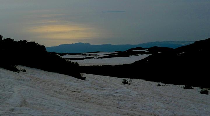 東北鳥海山 山スキー