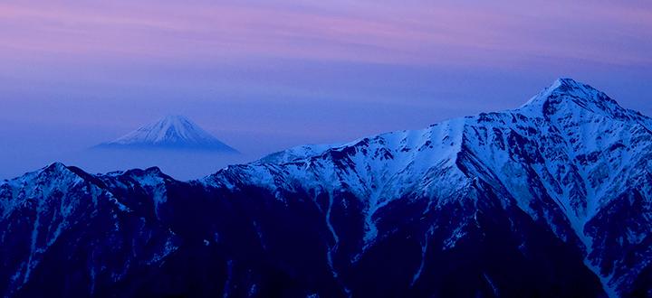 ゴールデンウィーク雪山登山 南アルプス仙丈ヶ岳
