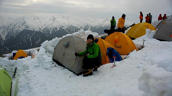 ゴールデンウィーク雪山登山 北アルプス表銀座縦走