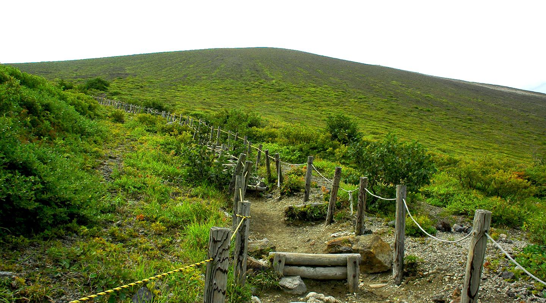 夏山登山 北海道 樽前山