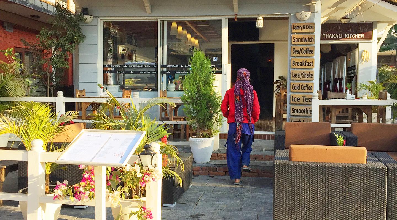 ネパール ポカラ レストラン