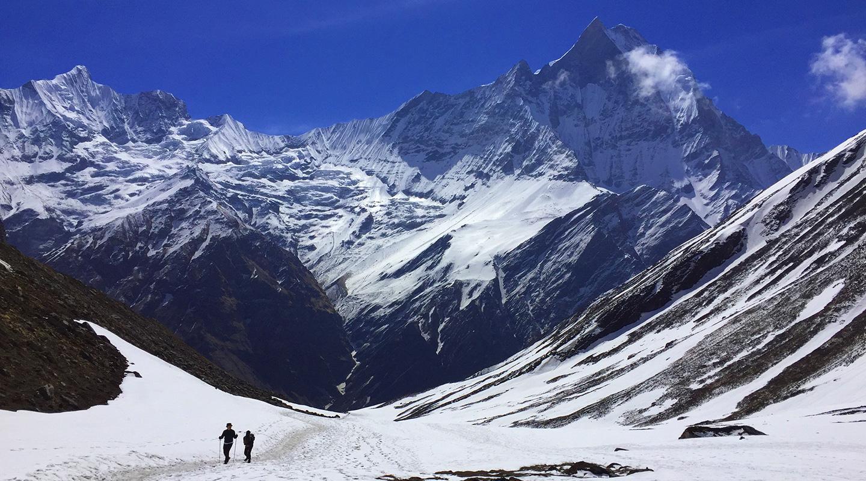 ネパール トレッキング アンナプルナ