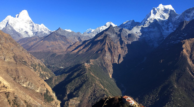 ネパール エベレスト街道 モンラ