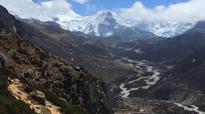 ネパール エベレスト街道 ディンボチェ