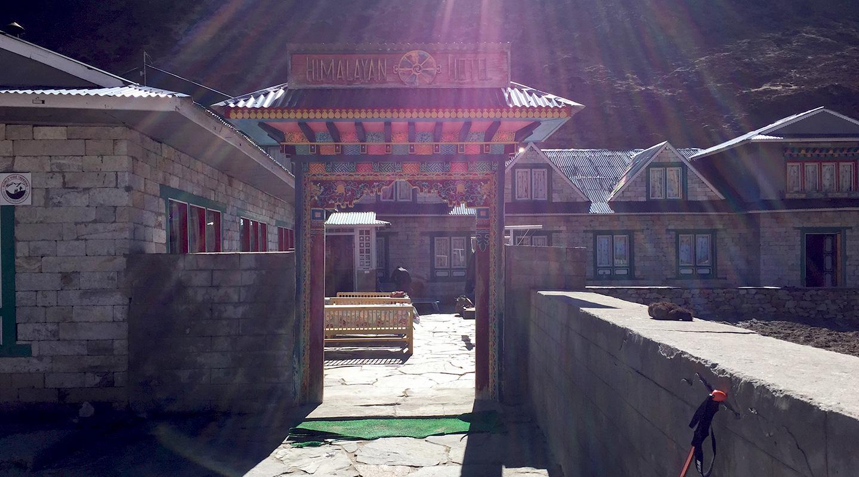 ネパール エベレスト街道 ペリチェ ロッジ