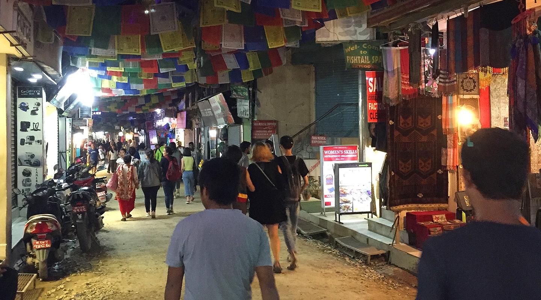 ネパール カトマンズ タメル