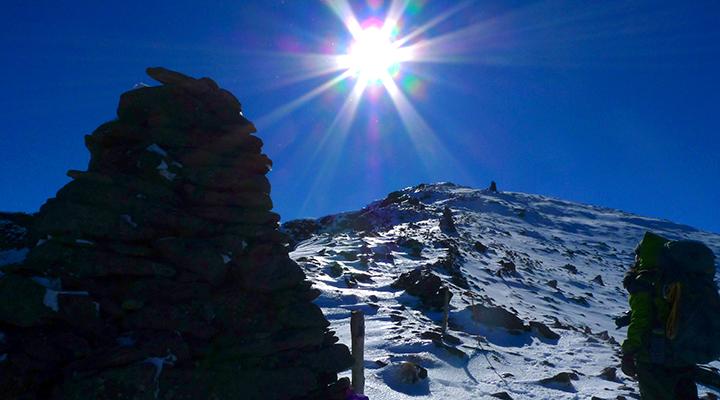 登山 日焼け対策