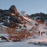 年末年始 雪山登山 南アルプス 鳳凰山