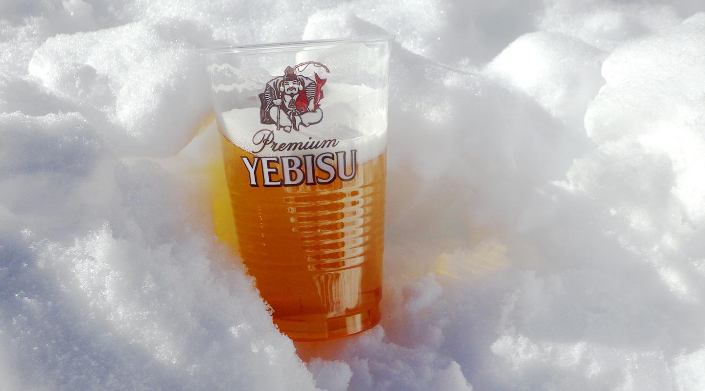 年末年始 北沢峠 ビール