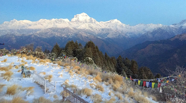 ネパール ヒマラヤ ゴレパニ・プーンヒル