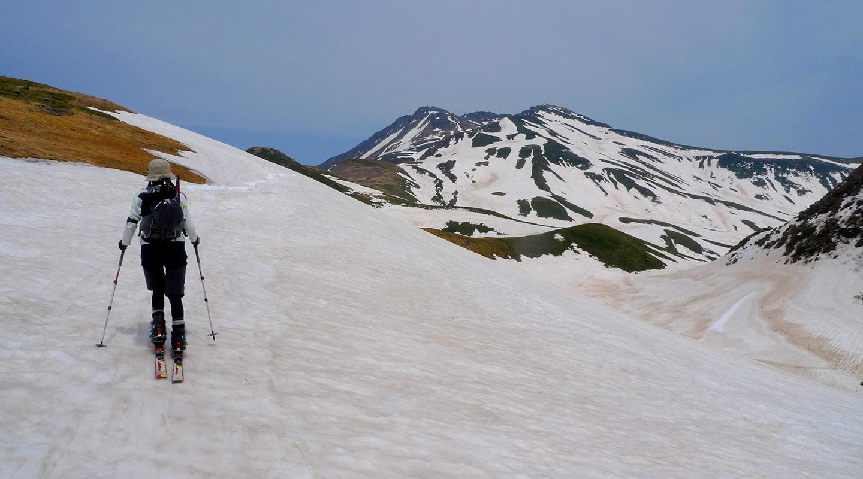 山スキー 登山 趣味