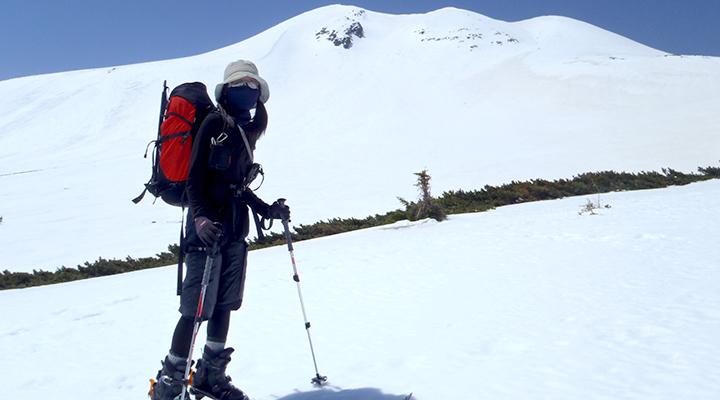 山スキー 乗鞍 GW