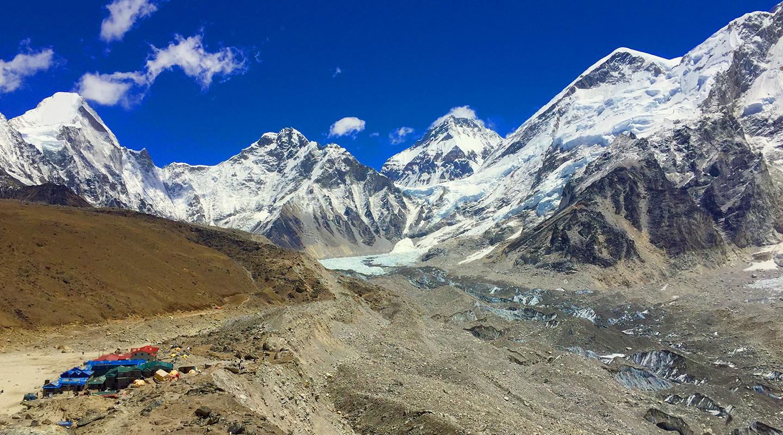 ネパール ヒマラヤ ゴラクシェプ