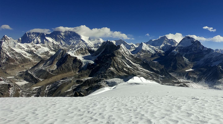 ネパール メラピーク サミット