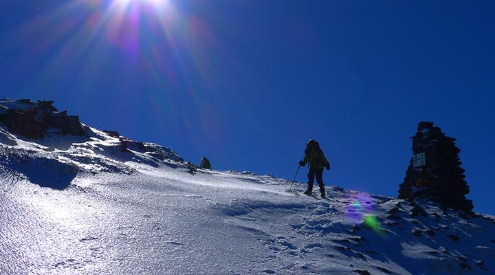 冬山登山 八ヶ岳 硫黄岳