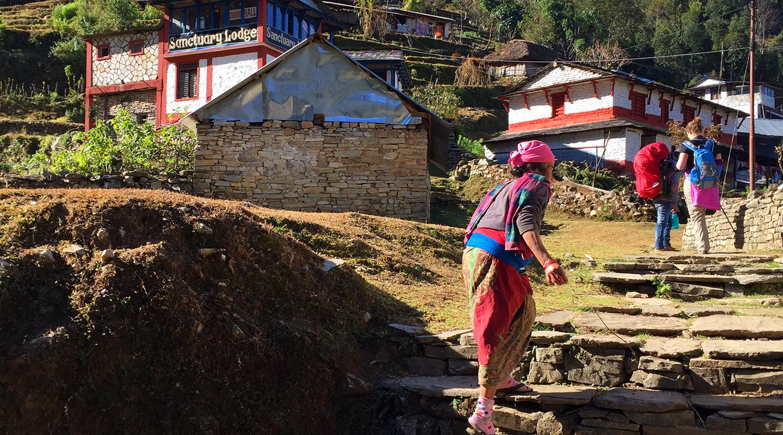 ネパール トレッキングルート
