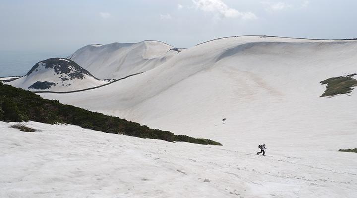 山スキー 初心者 鳥海山