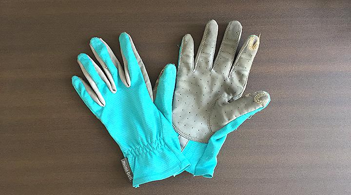 登山 UV手袋 モンベル クールグローブ