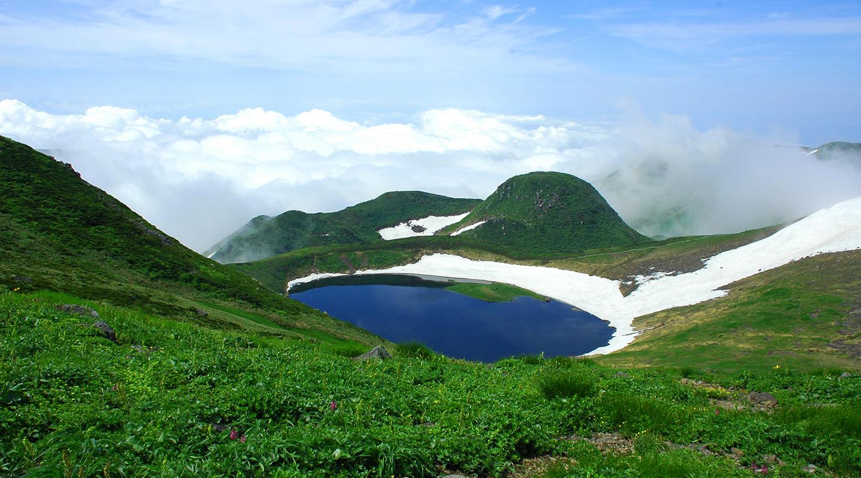 夏山登山 東北 鳥海山