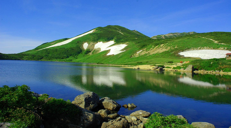 夏山登山 北アルプス 白馬大池