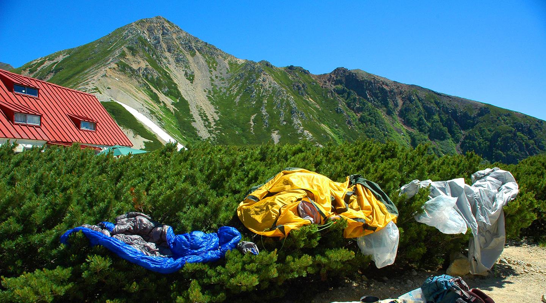 登山 北アルプス テント泊