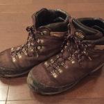 登山靴 lomel 10年