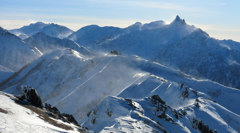 北アルプス 燕岳 年末年始 雪山登山