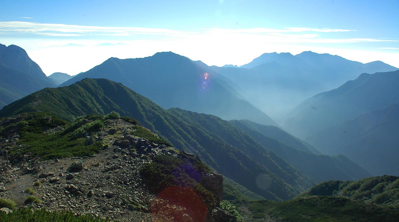 南アルプス 仙丈ヶ岳 登山