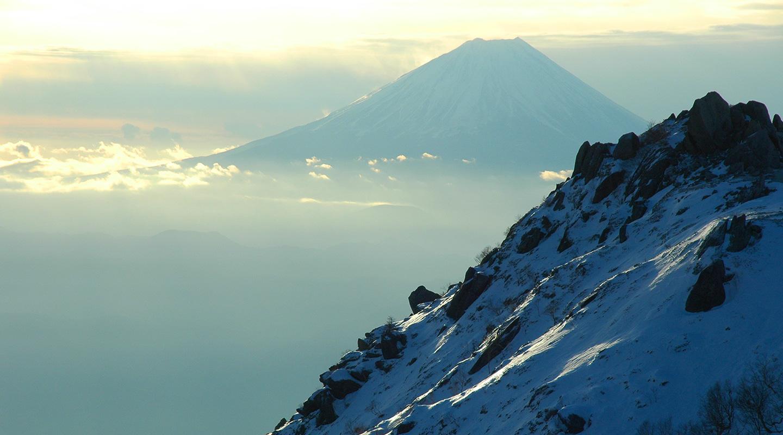 南アルプス 鳳凰山 雪山登山