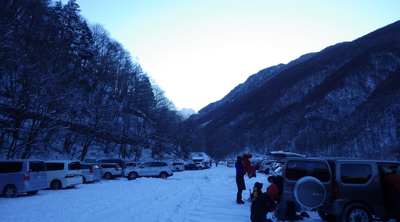 年末年始 雪山登山 南アルプス 仙丈ヶ岳・甲斐駒ケ岳