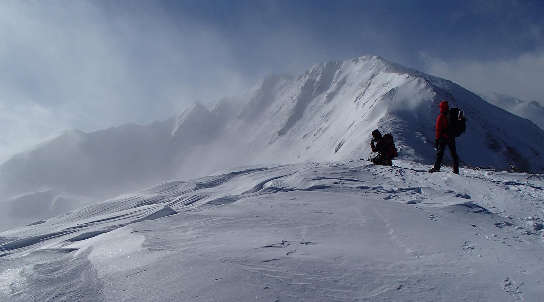 積雪期 仙丈ヶ岳