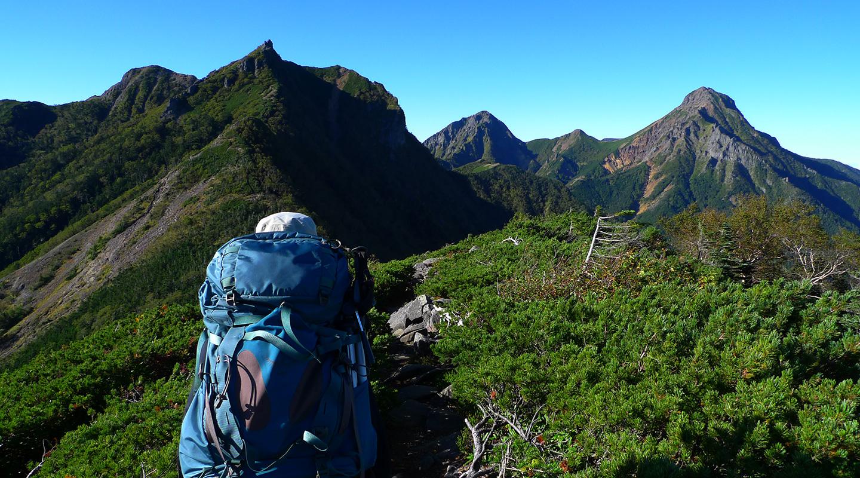 八ヶ岳 赤岳キレット テント泊登山