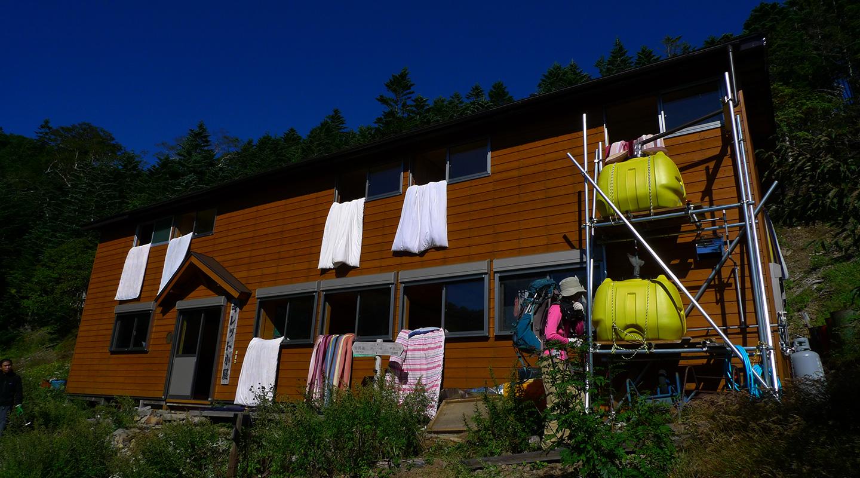 八ヶ岳 赤岳 キレット小屋