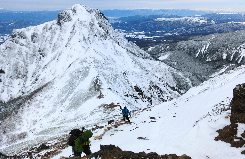 八ヶ岳 赤岳 厳冬期雪山登山