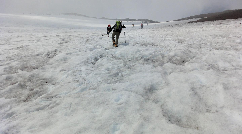 富士山 日帰り登山 残雪期