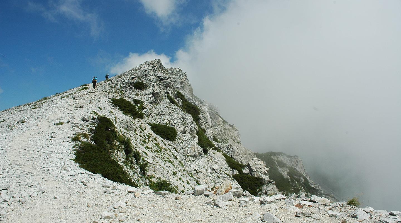 北アルプス 白馬岳