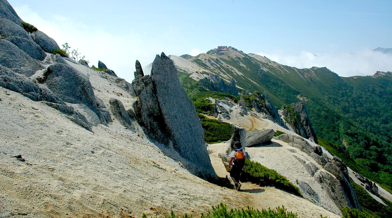 夏山登山 北アルプス 燕岳