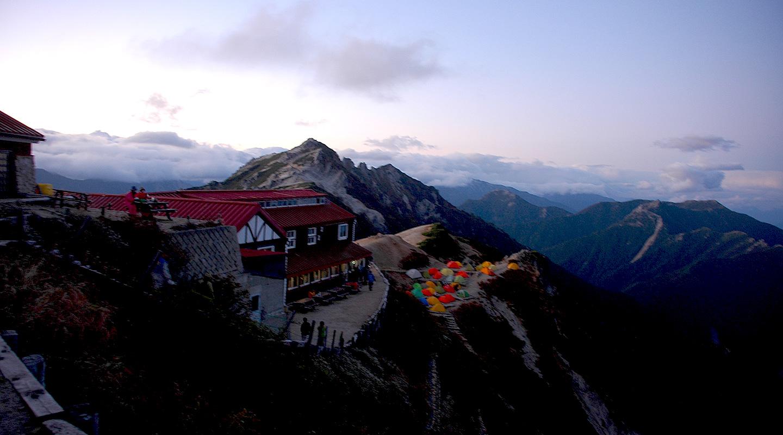 北アルプス 燕山荘