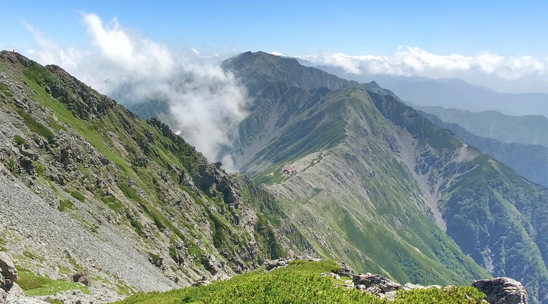 南アルプス 北岳 登山