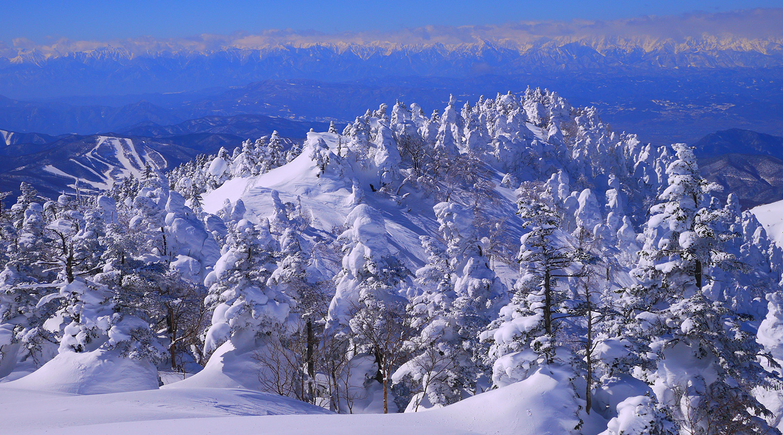 四阿山 山スキー