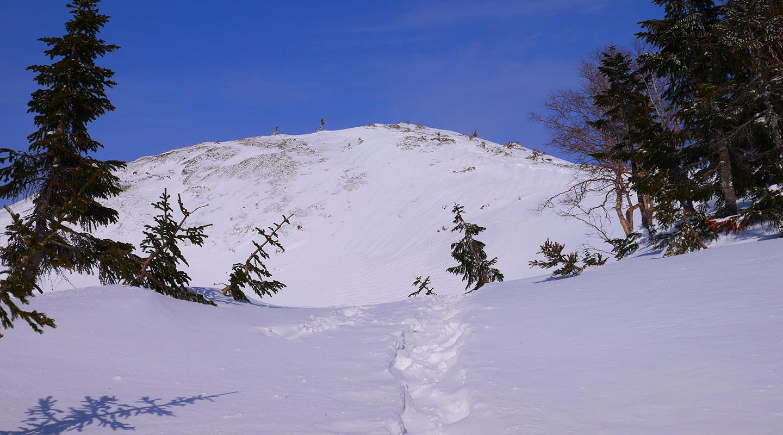 北アルプス 蝶ヶ岳 雪山登山
