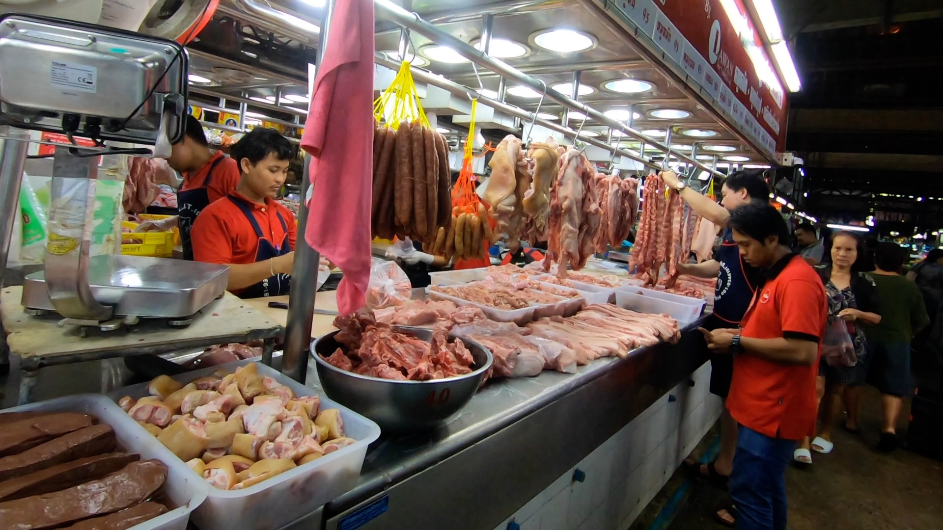 タイ ドンムアン 市場