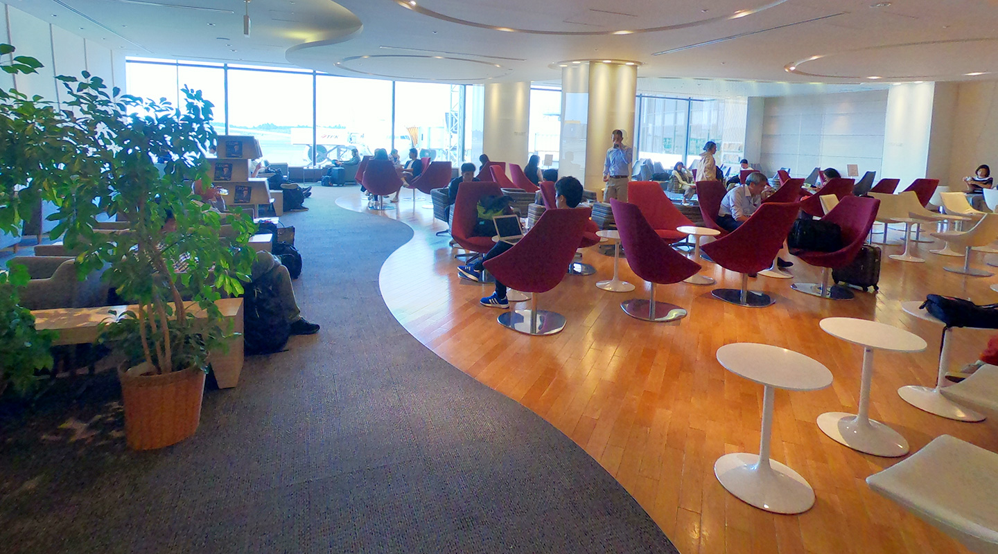 KAL BUSINESS CLASS LOUNGE