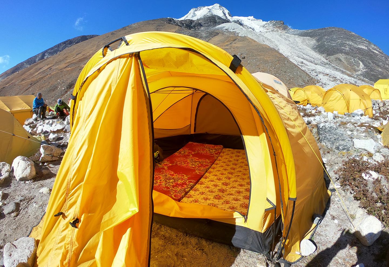 アイランドピーク ベースキャンプ