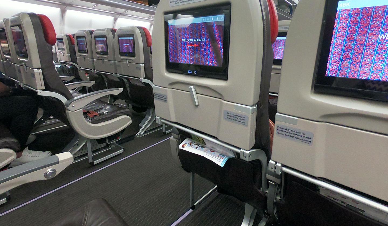 タイ ライオンエア 機内