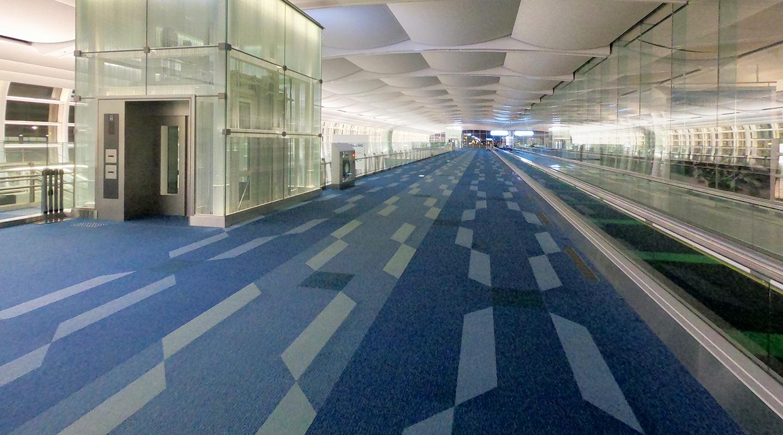 羽田空港 国際線 深夜