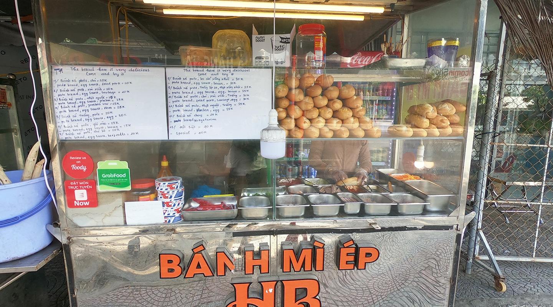 ベトナム バインミー 屋台