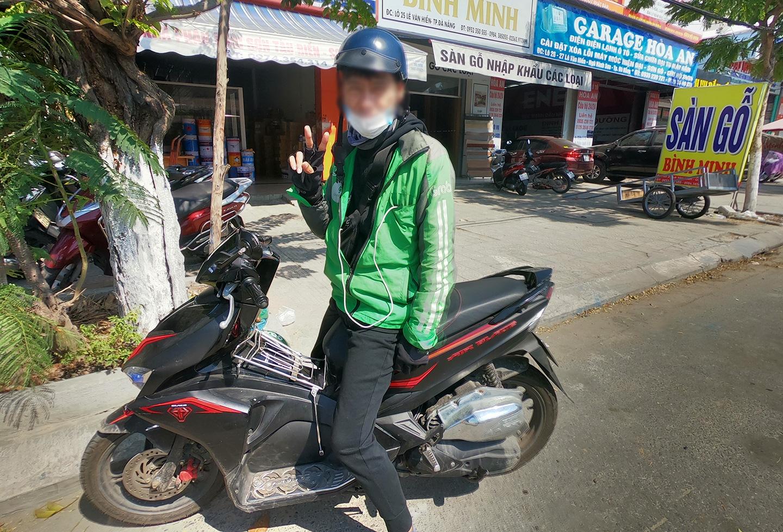 Grabバイク ダナン ベトナム