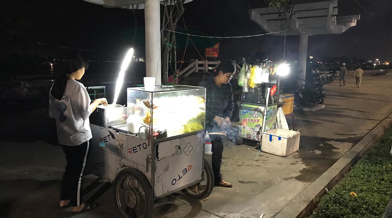ベトナム ダナン 屋台