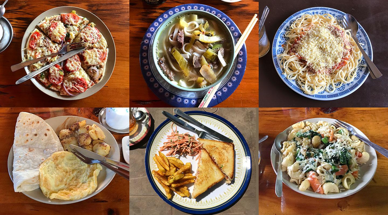 ネパール 食事 エベレスト街道